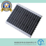Vierkante Rubber Hoogste Plastic Modulaire Riem 1400 van de Wrijving