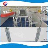 Equipamento de suínos suínos galvanizados a quente Parição Crate com régua de PVC