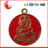 Medaglione su ordinazione di vendita caldo della medaglia di oro del metallo