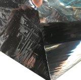 銀製の白い表面が付いている自己接着瀝青の防水膜