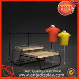 Muebles de la visualización del vector de la visualización de la grada de la ropa 2 para el almacén