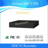 Dahua 16channel 1080P 2u 감시 Hdcvi 디지털 비디오 녹화기 (HCVR8816S-S3)