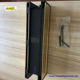 Tradinationalの12インチUPVCドアによって磨かれるLetterboxまたは文字の版の中間の柵-金か黒