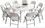 HDPEのブロー形成のプラスチック折りたたみ式テーブル、屋外党のための携帯用表