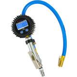 아연 합금 바디 해결책 0.2 Psi 디지털 타이어 부풀리는 장치 계기 0-255 Psi