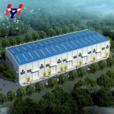 Faible coût de fabrication conception de bâtiments en métal Structure en acier pour la vente