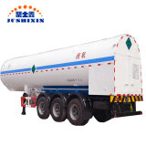49.1 La GAC l'ammoniac liquide camion de transport semi-remorque du tracteur ISO des réservoirs d'oxygène liquide Semi-Trailer transport pétrolier de route