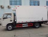 Bas prix Dongfeng 4t légumes Aliments Payload des camions frigorifiques de transport du stockage