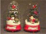 De Muzikale Sneeuwende Scène van Kerstmis (01-4)