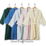 5 étoiles en velours de coton brodé Hommes Femmes peignoir de bain robe de chambre