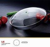 Dôme de haute qualité alimentaire Couvercle en verre pour poêle