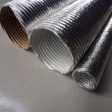 Isolation thermique du conduit d'air Auto le flexible d'aluminium de manchon de protection en carton ondulé
