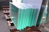 목욕탕 문 창 유리를 위한 매우 명확한 /Low 철 안전 부유물 강화 유리