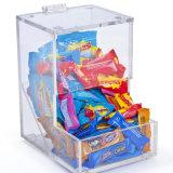 Hot Sale en acrylique transparent de bonbons Boîte d'affichage d'aliments pour le supermarché