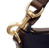 Nuovo arrivo 2017 bollato sacchetto di Tote di cuoio di nylon della spalla dell'azzurro di blu marino