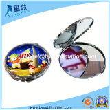 Mode Style Round Blank Sublimation Compact Mirror