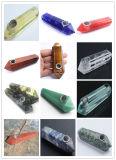 les pipes en verre de première pente de 14mm pour des pipes de fumage de l'eau vendent également le clou de titane de clou de quartz de rectifieuse