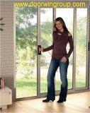 Хорошее качество алюминиевые раздвижные двери с двойными стеклами