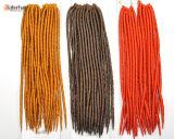 Выдвижения волос закрутки волос оплетки оплетки 100% Kanekalon волос замок 2018 Dread Jumbo синтетического Darling мягкий Lbh 005