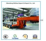 100-200t de semi Aanhangwagen van de Vrachtwagen van Op zwaar werk berekende Hydraulische Modulaire Aanhangwagen