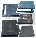 Coperchi di botola compositi quadrati della vetroresina FRP SMC BMC con il blocco per grafici