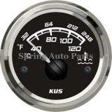Meilleur compteur de mesure de température d'eau de 2 po avec capteur de température avec rétro-éclairage