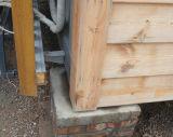 サンドイッチパネルの鉄骨フレームの防水容器の居間