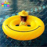 Раздувная сторона усмешки лебедя Пегас, поплавки стороны, поплавок бассеина Emoji
