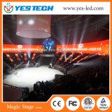 Visualizzazione di LED esterna economizzatrice d'energia di colore completo di alta luminosità P5.9