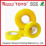 Cinta amarillenta adhesiva de acrílico para empaquetar