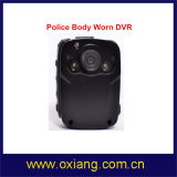 小型1080P警察IRの身に着けているボディカメラ