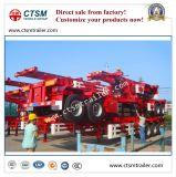 2-Axle 20FT Behälter-Skelett/Rahmen-halb LKW-Schlussteil