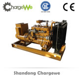 Le bois gazogène 100kw électrique de puissance de groupe électrogène de la biomasse