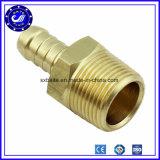 Empujar rápido neumático de cobre amarillo del metal de las guarniciones del conector de China hacia adentro junta de tubo del acoplador rápido de las guarniciones
