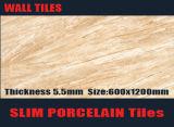 Плитки мраморный плитки стены фарфора Lamina толщины конструкции 300X600mm 400X800mm 500X1000mm 5.5mm керамические
