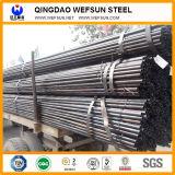 Buena calidad y servicio Soldadura de tubería de acero para la estructura de acero y la construcción