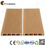 Placas plásticas de madeira ocas do Decking do composto WPC