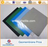 LLDPE texturizado liso PVC LDPE EVA HDPE Geomembrane Pond Liner