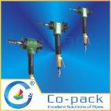 低クリアランス空気圧パイプ面取り機