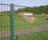 Doppia recinzione orizzontale del reticolato di saldatura di iso 9001