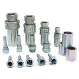 ISO нержавеющей стали давления 7241 серии соединение штуцера шланга высокой латунной гидровлическое быстро
