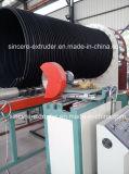 Métal en plastique de machines d'extrusion de pipe d'évacuation de HDPE renforcé
