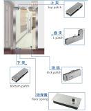 Canto de fábrica de montagem de patch Patch de Porta de ligação para a porta de vidro