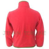 연소한 작풍 Microfleece 긴 지퍼 Softshell 재킷