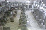가득 차있는 자동적인 저온 살균을 행한 우유 공정 라인