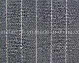Tecido estofado com trama T / R, 65% Poliéster 33% Rayon 2% Spandex, 250GSM
