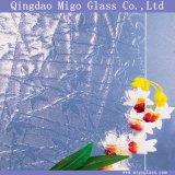 3.5-6mmの装飾的なカエデの葉のパタングラス