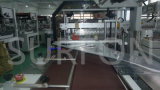 Machine à emballer automatique de rétrécissement de plancher propre de la Chine