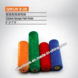 Rullo di vernice acrilico del tessuto della maniglia di plastica E-07