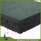 Напольная используемая резиновый плитка сделанная от Китая